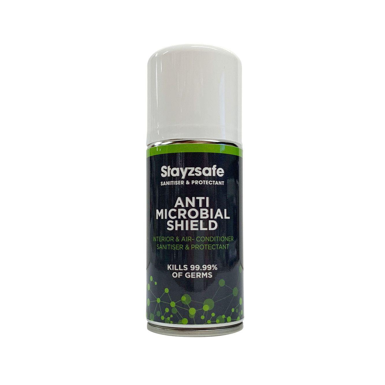 stayzsafe anti microbial shied